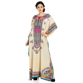 Plus Size Boho-Chic Caftan and Cover-up