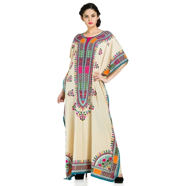 23a76819bc899 Shop Plus Size Boho-Chic Caftan and Cover-up - Free Shipping Today ...