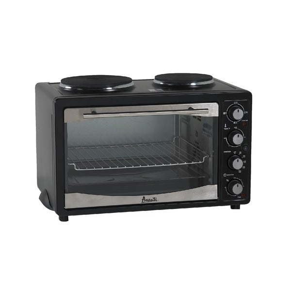 Avanti Mini Kitchen: Shop Avanti 1.1 Cu. Ft. Multi-Function Oven With 2 Cooktop
