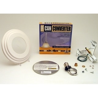 "Light Recessed Beveled Can Converter R56-RMB-WHT Conversion Kit for 5"" and 6"" Cans"
