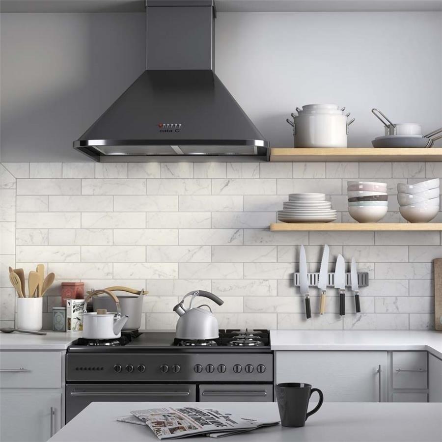 - Shop SomerTile 3x12-inch Carra Carrara Matte Ceramic Wall Tile (44