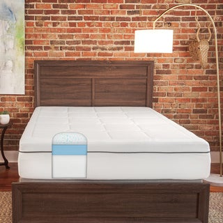 SwissLux 12-inch Queen-size Luxury Quilted Memory Foam Mattress