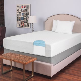 Exceptional SwissLux 12 Inch King Size Deluxe Smooth Top Memory Foam Mattress