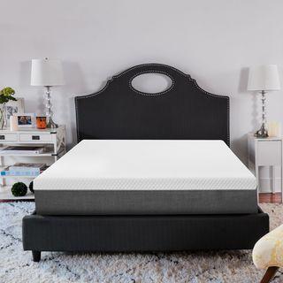 SwissLux 12-inch Deluxe Smooth Top Memory Foam Mattress