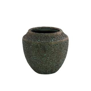 UTC51400 Ceramic Round SM Vase Earth Tone Finish Livid