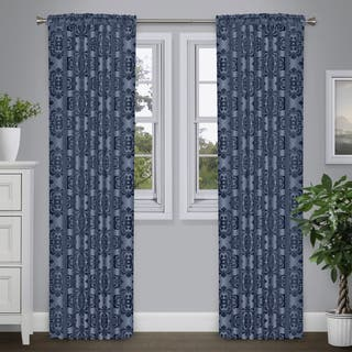 Journee Home 'Portico' 84-in Sheer Velvet Curtain Panel|https://ak1.ostkcdn.com/images/products/17038193/P23315448.jpg?impolicy=medium