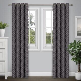 Journee Home 'Arthur' 84-in Grommet Energy Efficient Blackout Curtain Panel (3 options available)