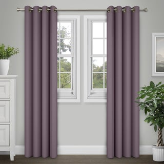 Journee Home 'Kim' 84-in Grommet Curtain Panel Pair