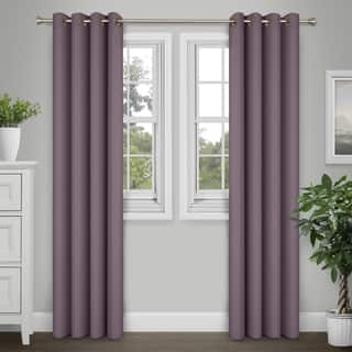 Journee Home 'Kim' 84-in Grommet Curtain Panel Pair|https://ak1.ostkcdn.com/images/products/17038198/P23315452.jpg?impolicy=medium