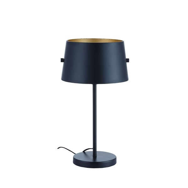 Euro Style Collection Kiev Metal 8.5-inch Height Rotatable Shade Table Lamp