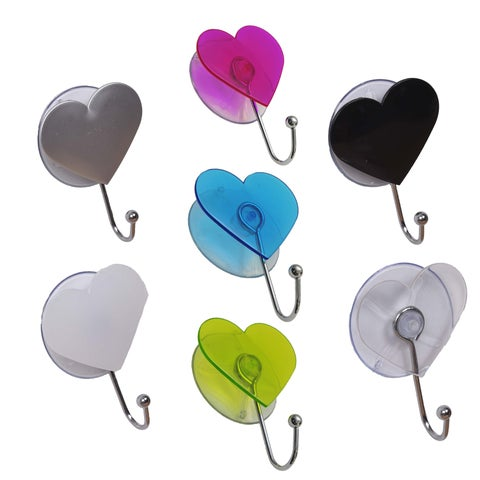 Evideco Hook design Heart Suction Mounted EVE
