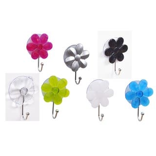 Evideco Flower Hook Hanger Suction Mounted EVE|https://ak1.ostkcdn.com/images/products/17038263/P23315670.jpg?impolicy=medium