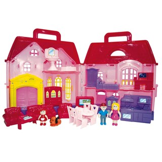 Family Dollhouse Playset