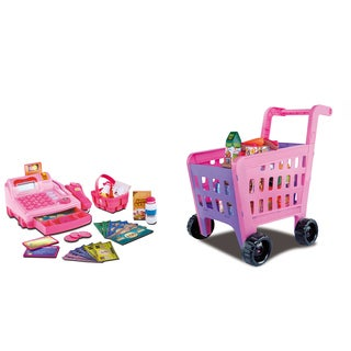 Cash Register With Shopping Cart Playset