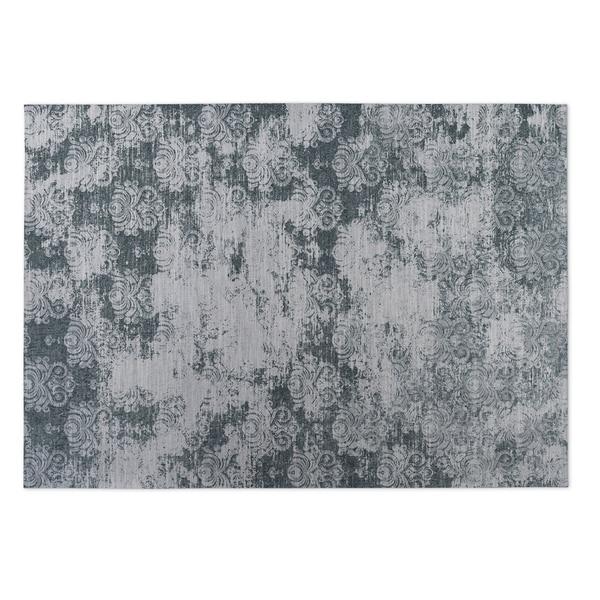 Kavka Designs Grey Milano Indoor/Outdoor Floor Mat (8' X 10') - 8' x 10'