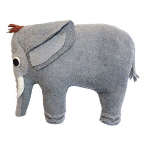 Handmade Felted Friend Elephant Design (Kyrgyzstan)