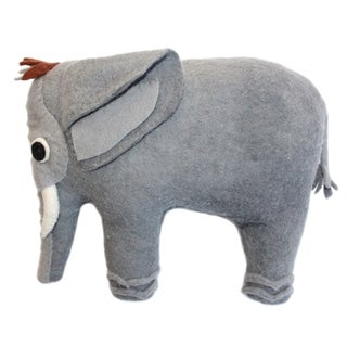 Handmade Felted Friend Elephant Design (Kyrgyzstan)