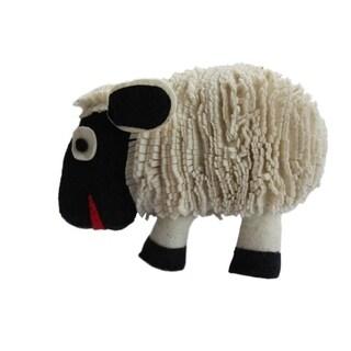 Handmade Felted Friend Sheep Design (Kyrgyzstan)