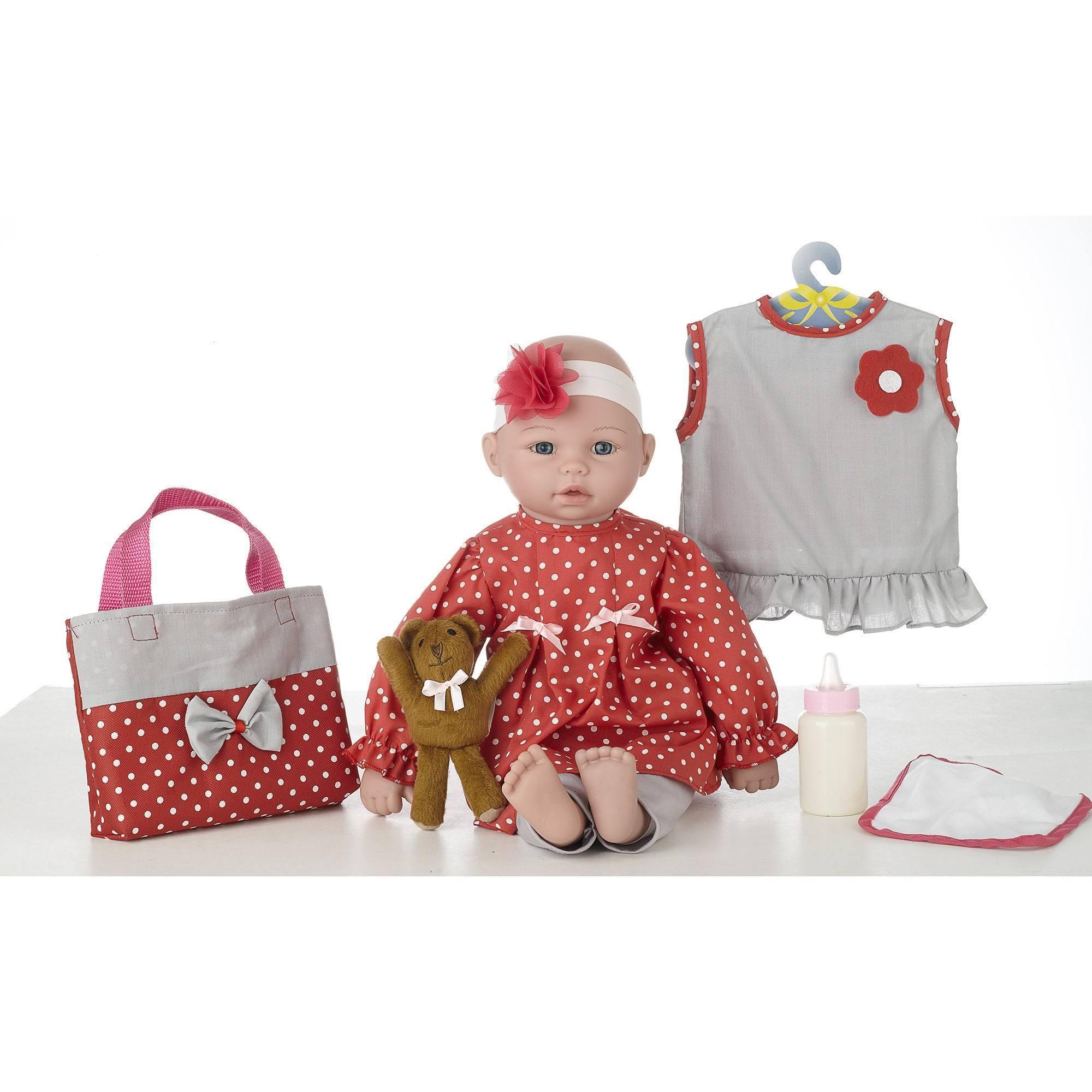 "18"" Talking Baby Doll Emma, Multi"