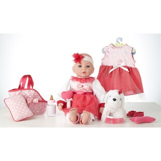 "18"" Baby Doll Dress Like Me Puppy Emma"