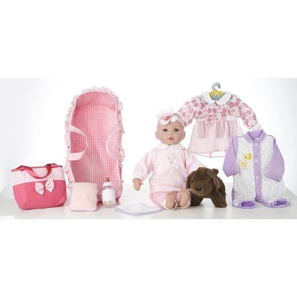 "18"" Baby Doll Carry 'N' Sleep Playset Emma"