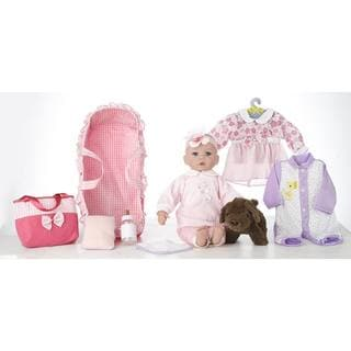 "18"" Baby Doll Carry 'N' Sleep Playset Emma"