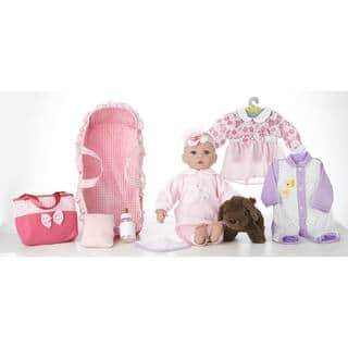 "18"" Baby Doll Carry 'N' Sleep Playset Emma