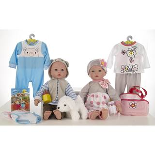 "18"" Baby Doll Twins Joy & Love