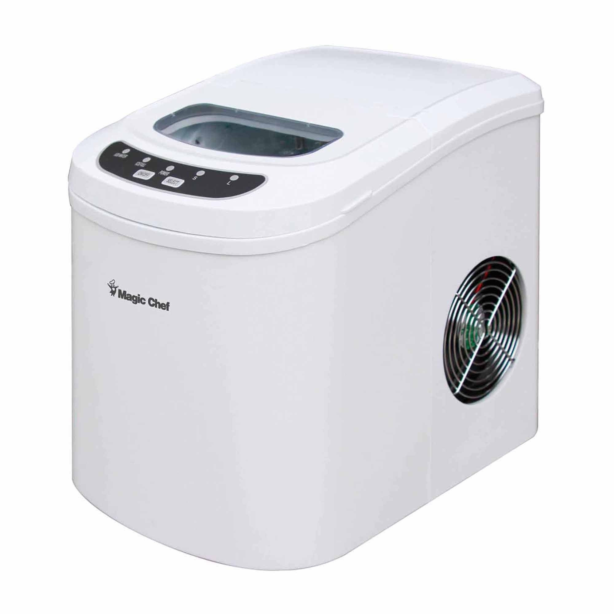 Magic Chef 27-lb. Countertop Ice Maker - White