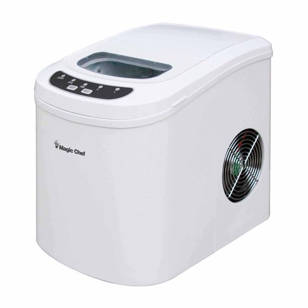 Shop Magic Chef 27 Lb Countertop Ice Maker White Free