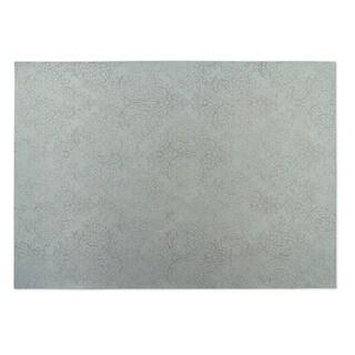 Kavka Designs Grey Arabesque Indoor/Outdoor Floor Mat (8' X 8')