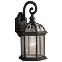 Y-Decor Adalyn 1 Light Exterior light in Black Finish