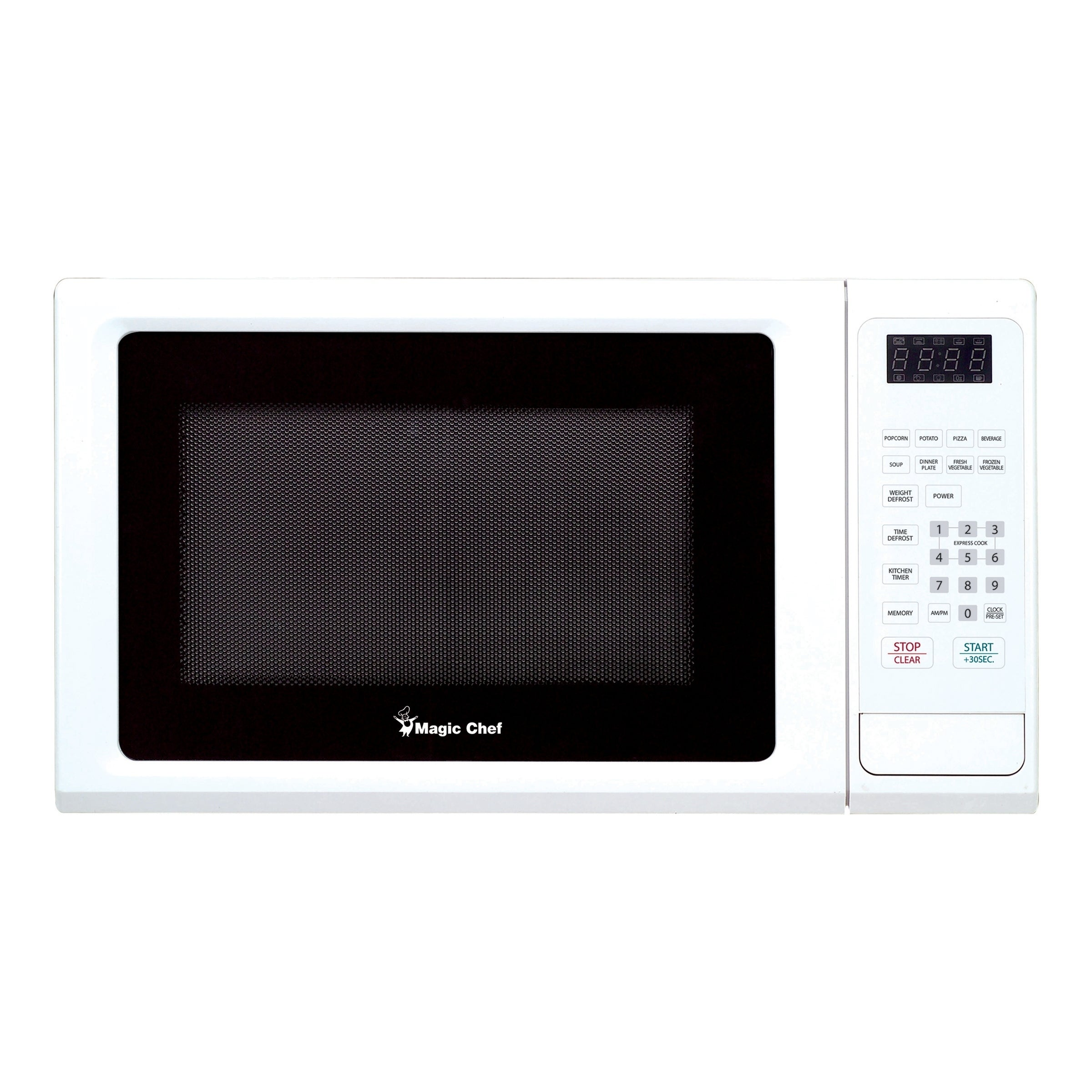 Magic Chef 1.1 Cubic Ft. Countertop Microwave Oven - Whit...