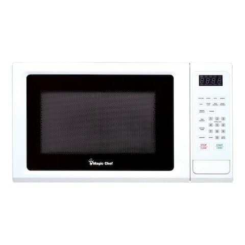Magic Chef 1.1 Cubic Ft. Countertop Microwave Oven - White