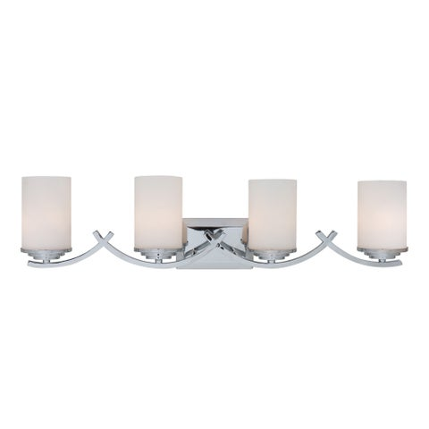 Yosemite Home Decor Vanity Lighting Series 4-light Chrome Vanity Fixture