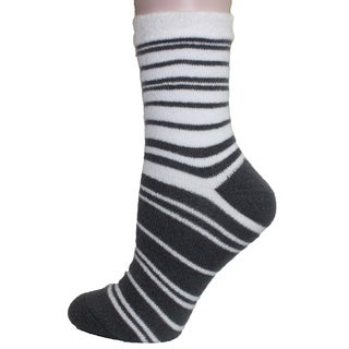 Double Layer Sock-Shea Butter Infused- Womens-One Size Fits Most (Sizes: 6-10) - Womens