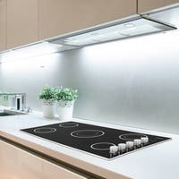 Ancona Inserta Plus 36 in. Built-In Range Hood in Stainless Steel