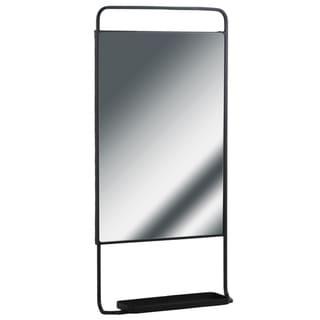 UTC32285 Metal Rectangle Shelf Metallic Finish Gray