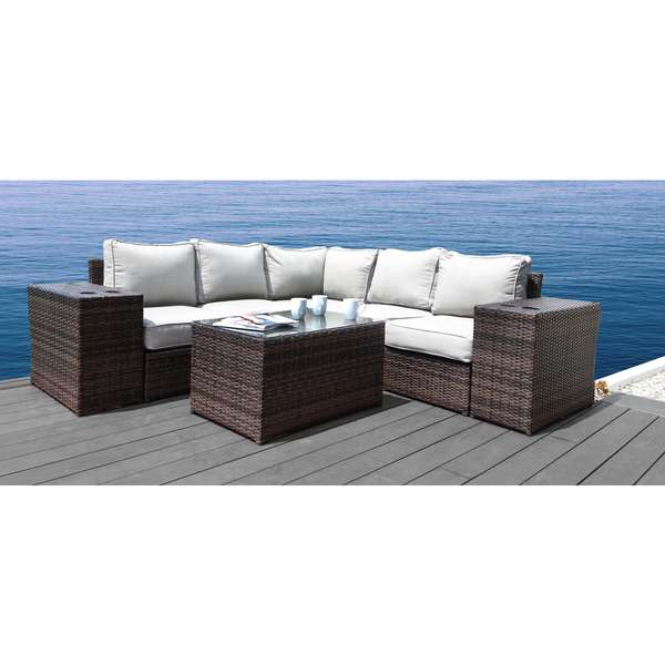 Living Source International Lucca Cup Table Sectional (6-piece Set)