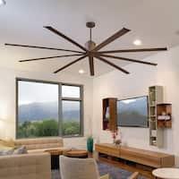 96 Inch Wet Location Ceiling Fan in Oil-Rubbed Bronze
