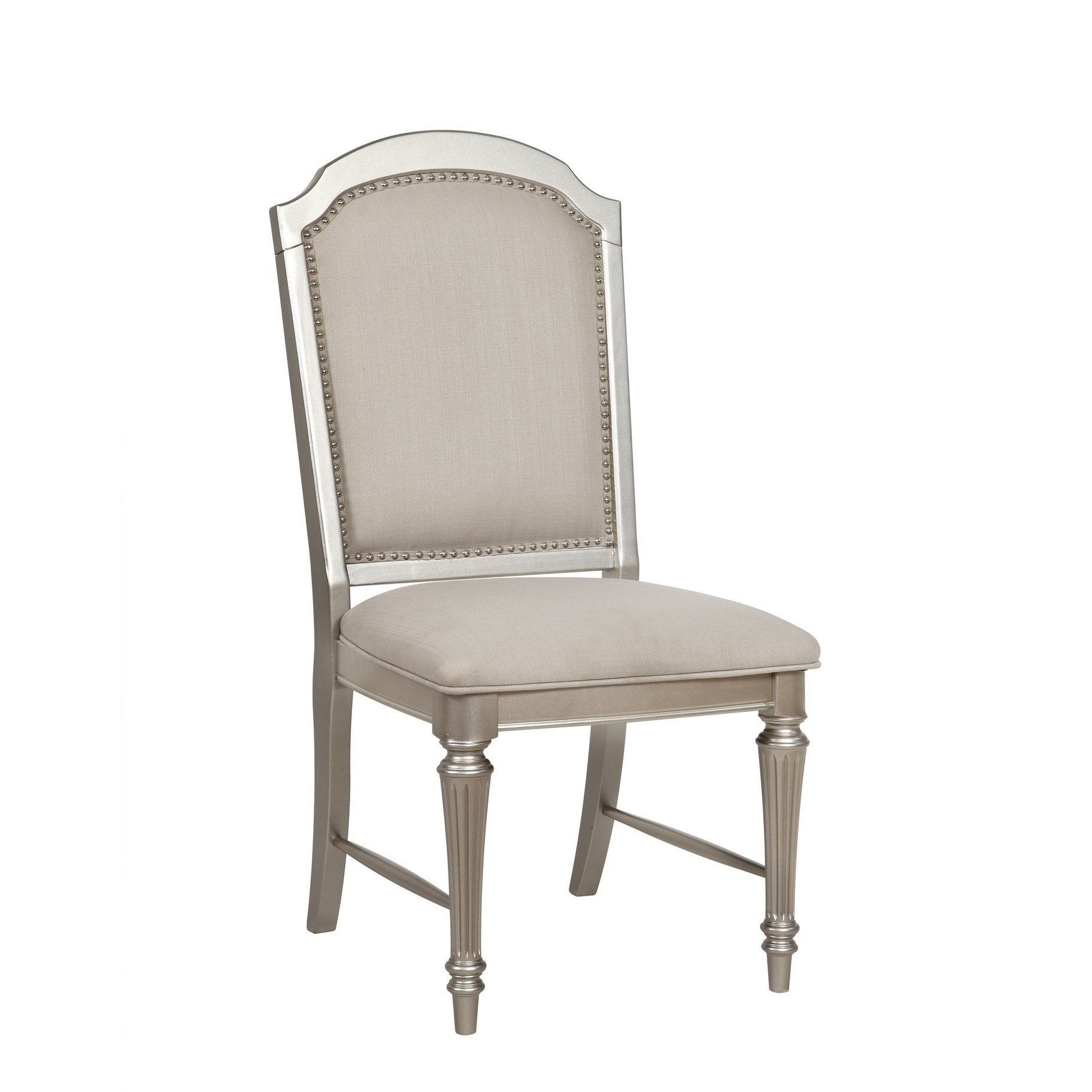 Park Ave Pearlized Platinum Dining Chair