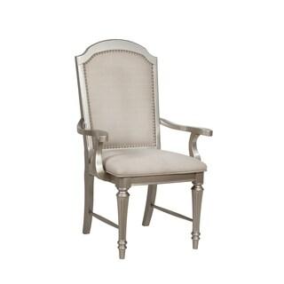 Park Ave Pearlized Platinum Arm Chair