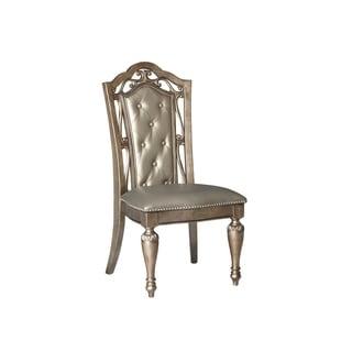 Valencia Platinum Glam Dining Chair
