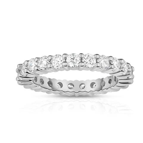 Noray Designs 14K White Gold Diamond (2.00 Ct-2.30 Ct, G-H Color, SI2-I1 Clarity) Eternity Ring - White G-H - White G-H
