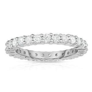 Link to Noray Designs 14K White Gold Diamond (1.25 Ct-1.40 Ct, G-H Color, SI2-I1 Clarity) Eternity Ring - White G-H - White G-H Similar Items in Wedding Rings