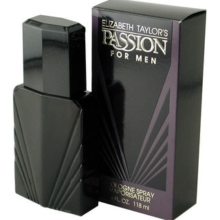 Elizabeth Taylor Passion Men's 4-ounce Spray Cologne