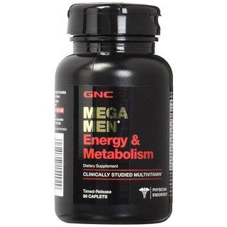GNC Mega Men Energy & Metabolism (90 Capsules)