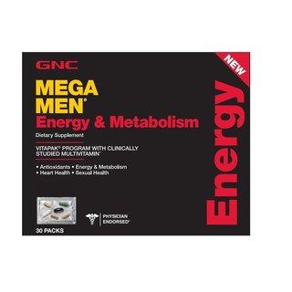 GNC Mega Men Energy & Metabolism Program (30 Pack)