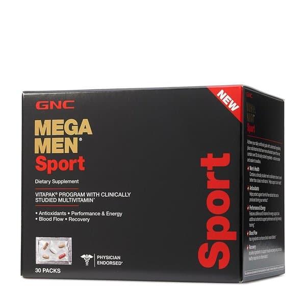 Shop Gnc Mega Men Sport 30 Pack Overstock 17040329