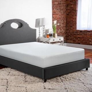 SwissLux 10-inch Hypoallergenic SensorFOAM King-size Memory Foam Mattress